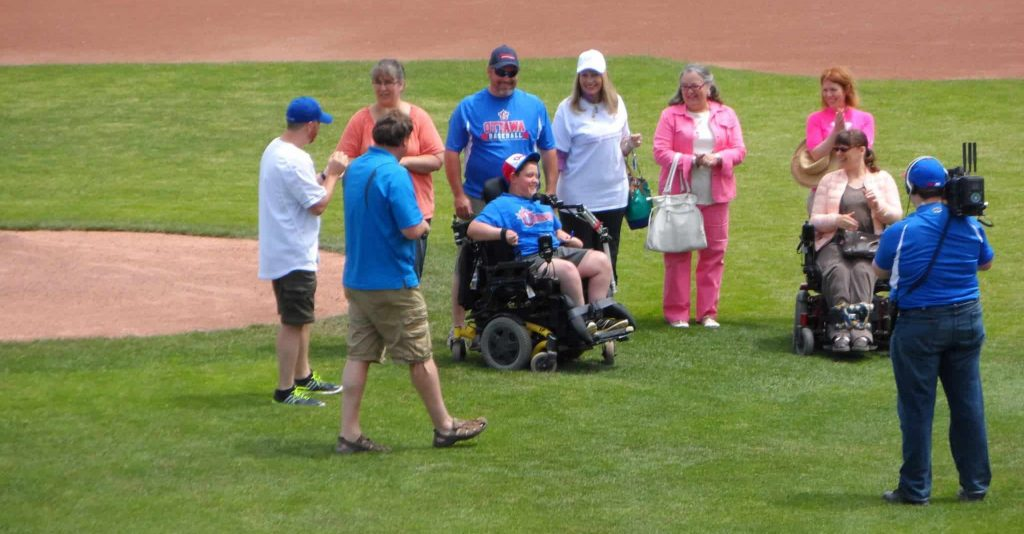 A session of Life span program at the ballpark at OCTC